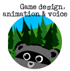 game design, animation and kid-friendly voiceovers